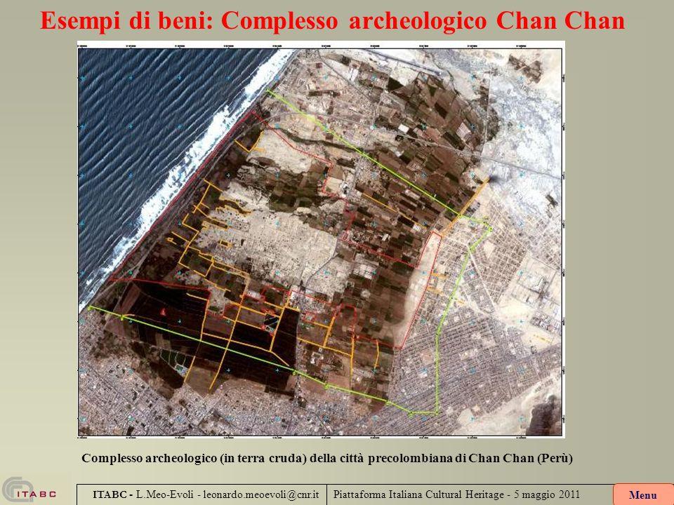 Esempi di beni: Complesso archeologico Chan Chan