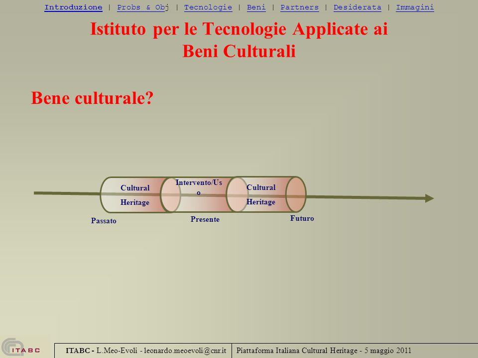 Istituto per le Tecnologie Applicate ai Beni Culturali