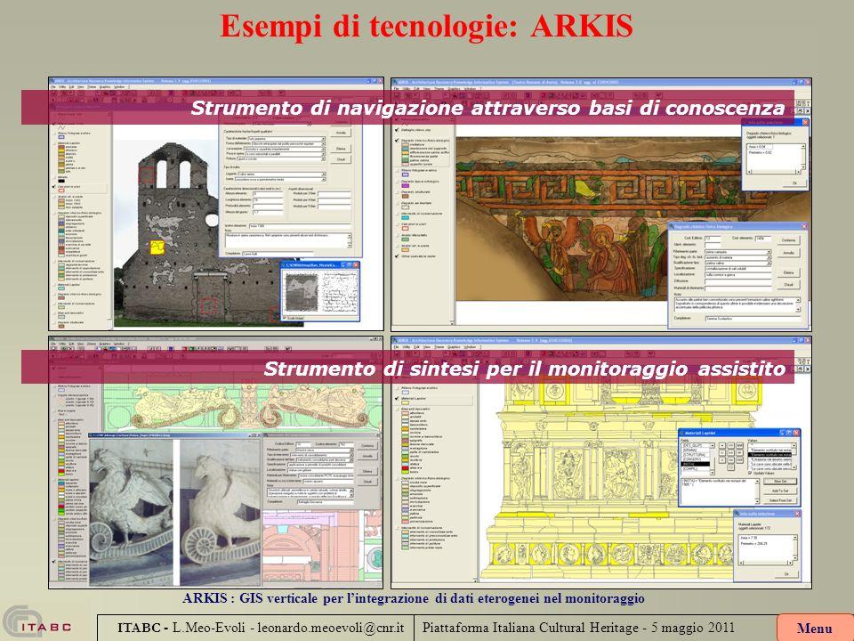 Esempi di tecnologie: ARKIS