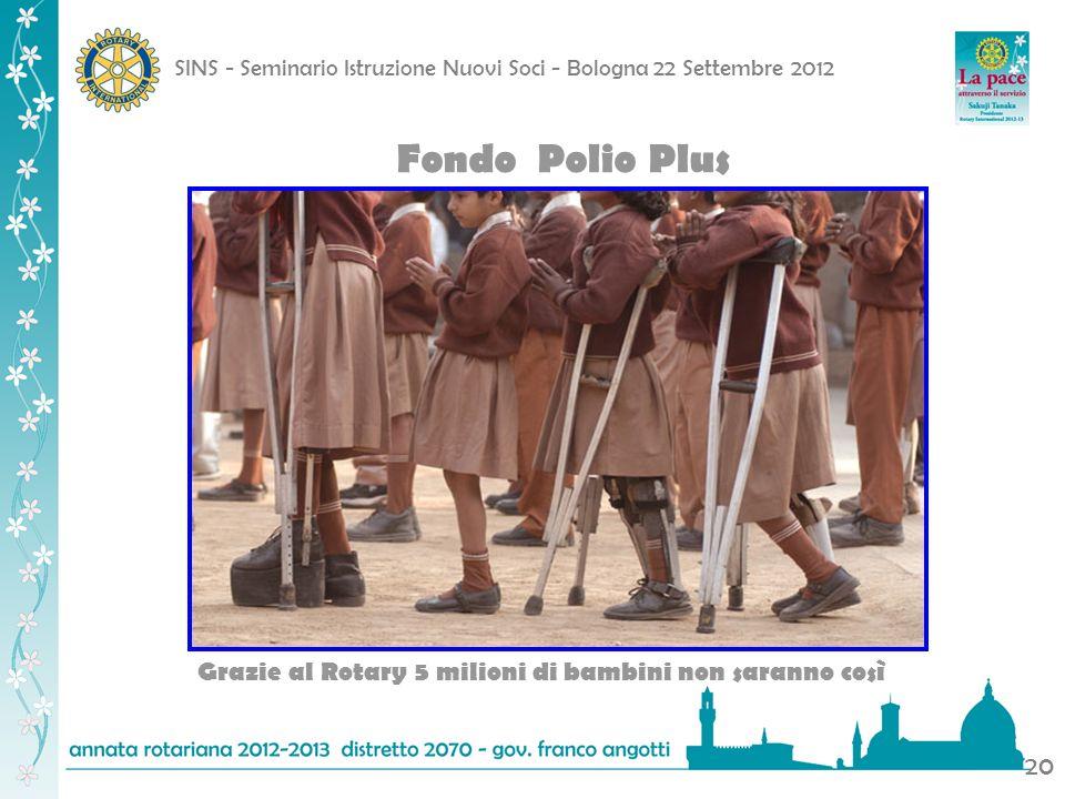 Fondo Polio Plus Grazie al Rotary 5 milioni di bambini non saranno così