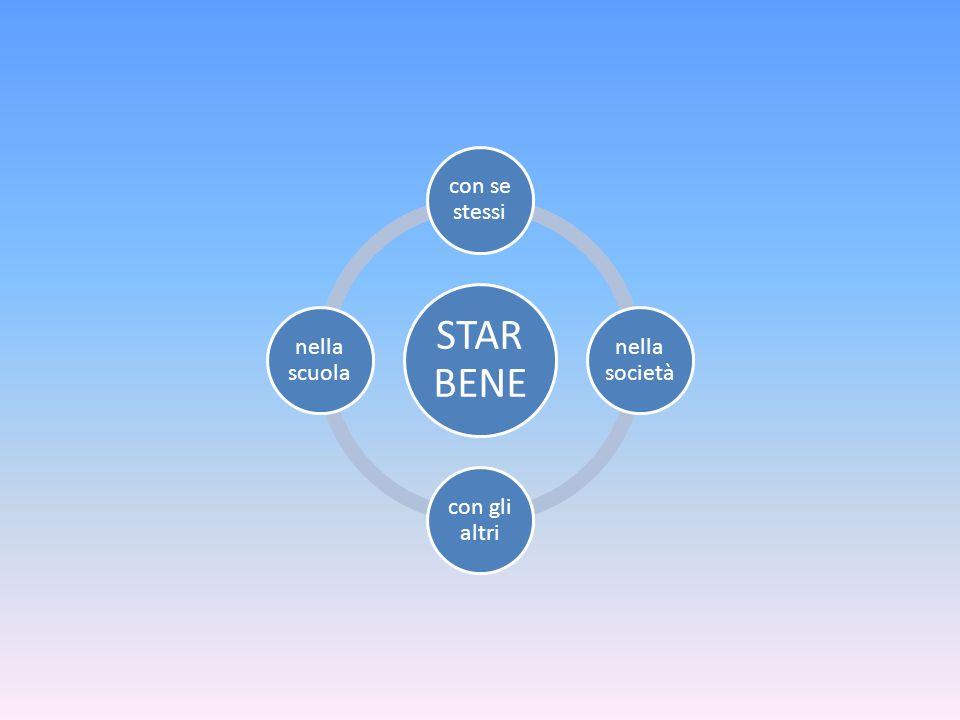 STAR BENE con se stessi nella società con gli altri nella scuola