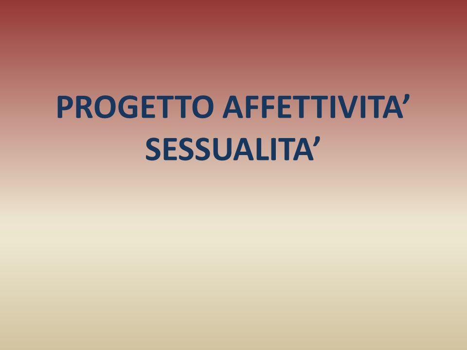 PROGETTO AFFETTIVITA' SESSUALITA'