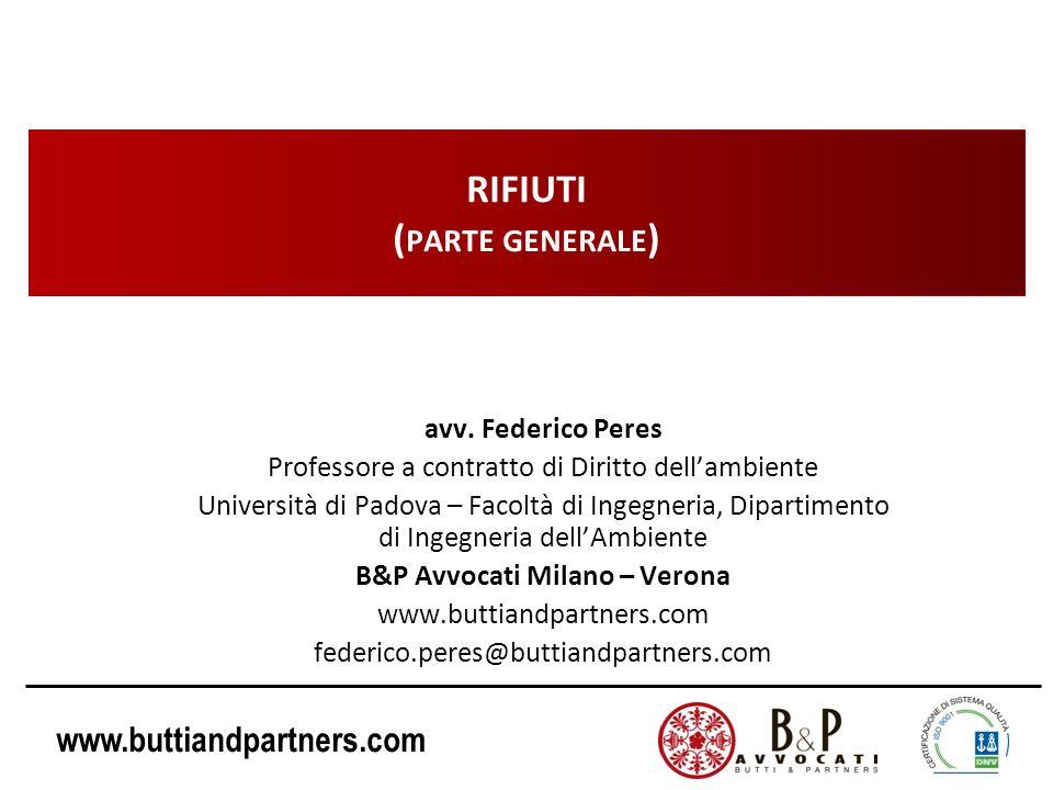 RIFIUTI (parte generale)