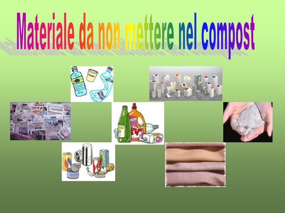 Materiale da non mettere nel compost