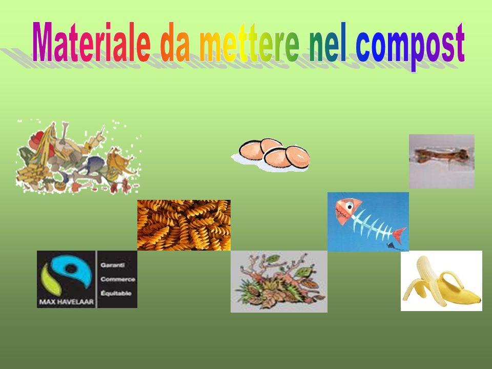 Materiale da mettere nel compost