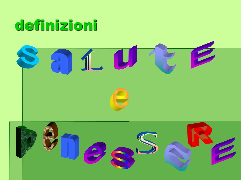 definizioni s t E u l a e b e R s n e E e S