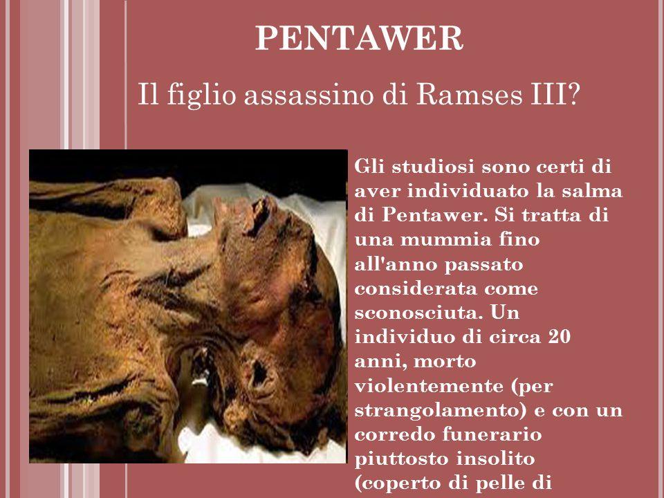 Il figlio assassino di Ramses III