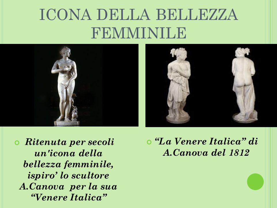 La Venere Italica di A.Canova del 1812