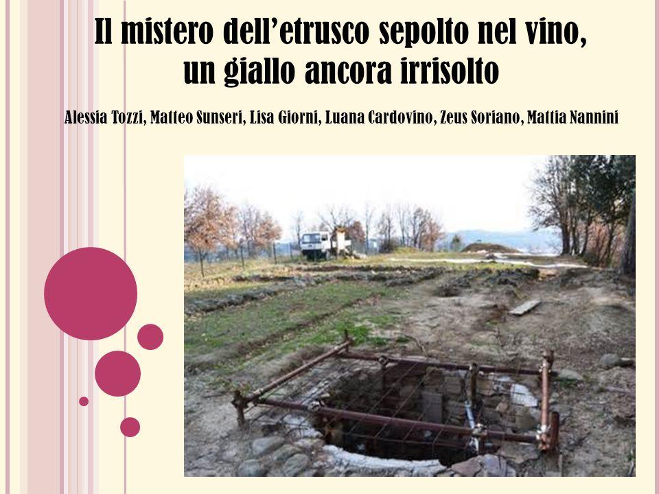 Il mistero dell'etrusco sepolto nel vino, un giallo ancora irrisolto