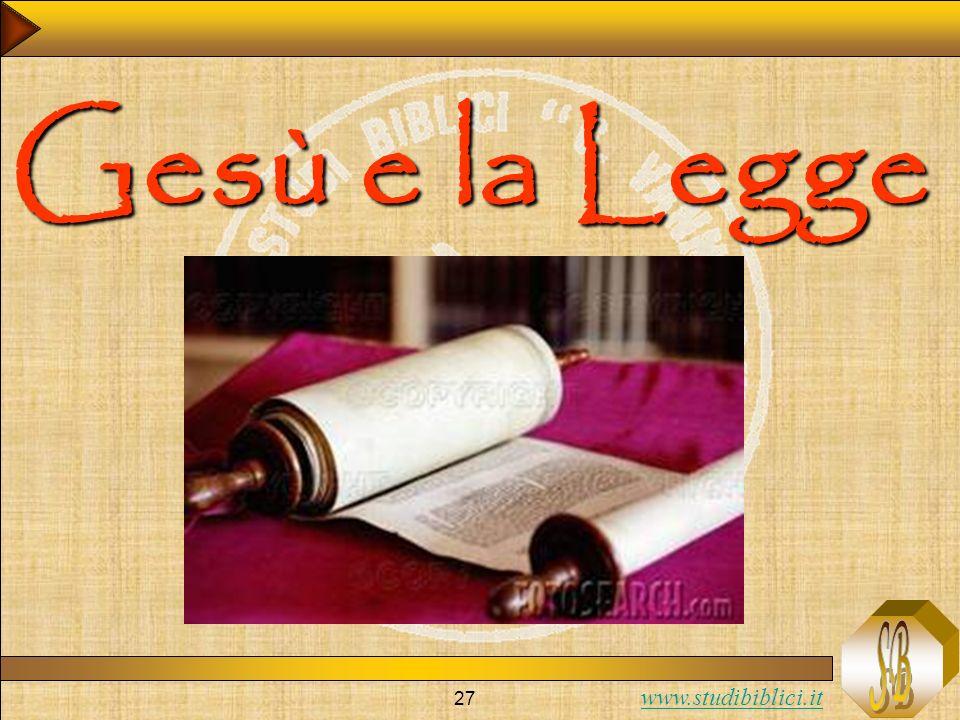 Gesù e la Legge