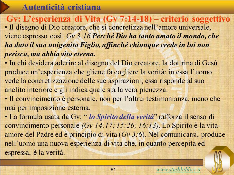 Autenticità cristiana