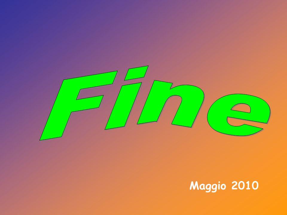 Fine Maggio 2010
