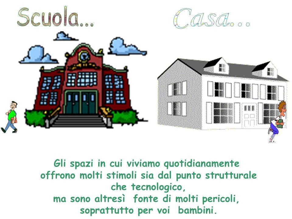 Scuola... Casa... Gli spazi in cui viviamo quotidianamente