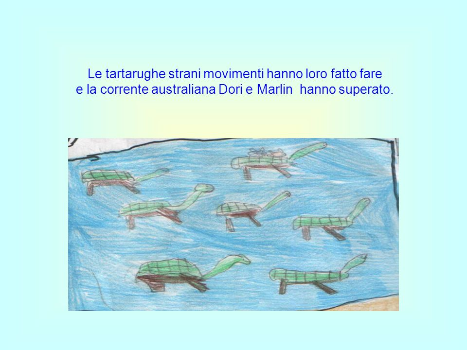 Le tartarughe strani movimenti hanno loro fatto fare
