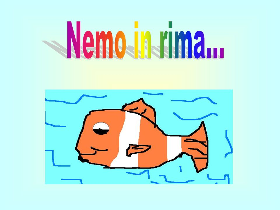 Nemo in rima...