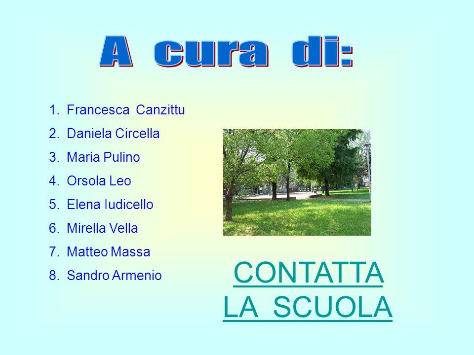 CONTATTA LA SCUOLA A cura di: Francesca Canzittu Daniela Circella