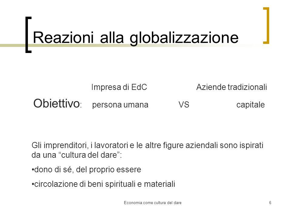Reazioni alla globalizzazione