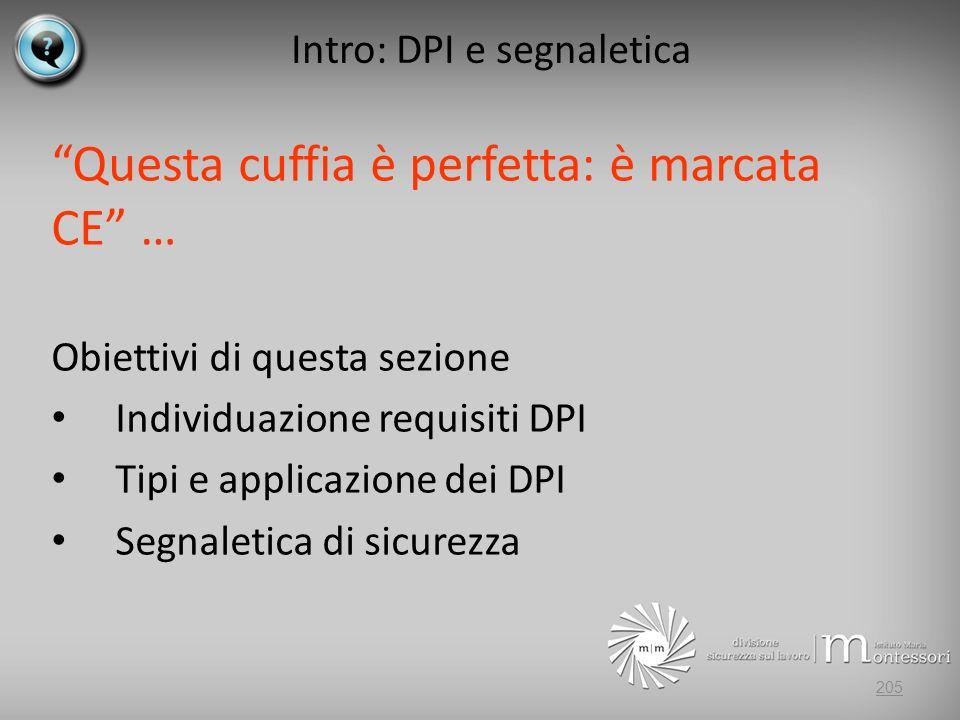 Intro: DPI e segnaletica