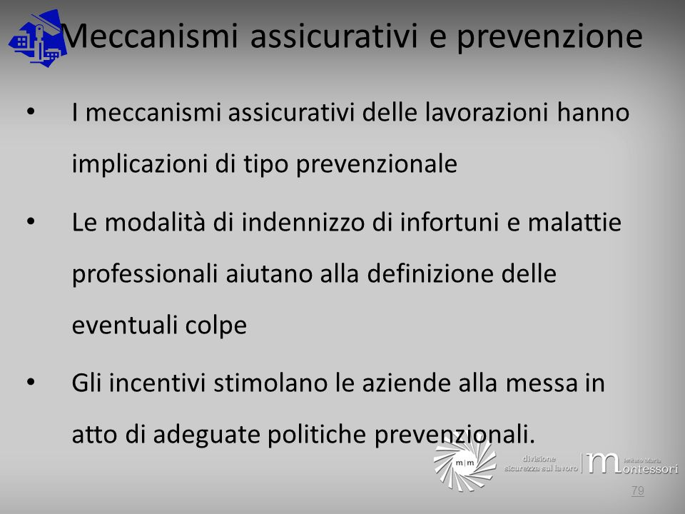 Meccanismi assicurativi e prevenzione