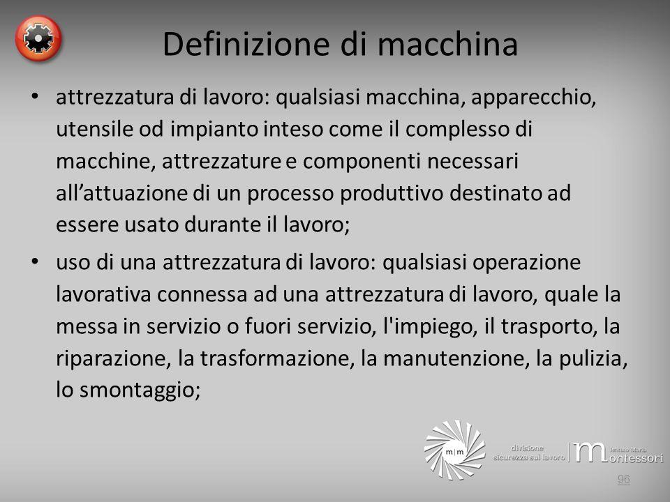 Definizione di macchina