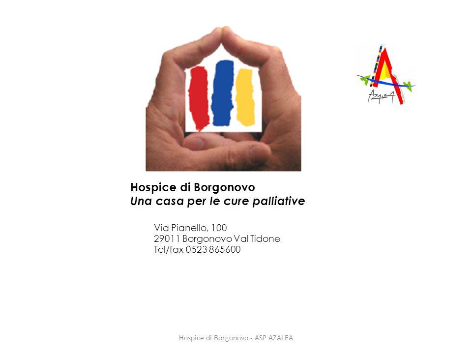 Hospice di Borgonovo - ASP AZALEA