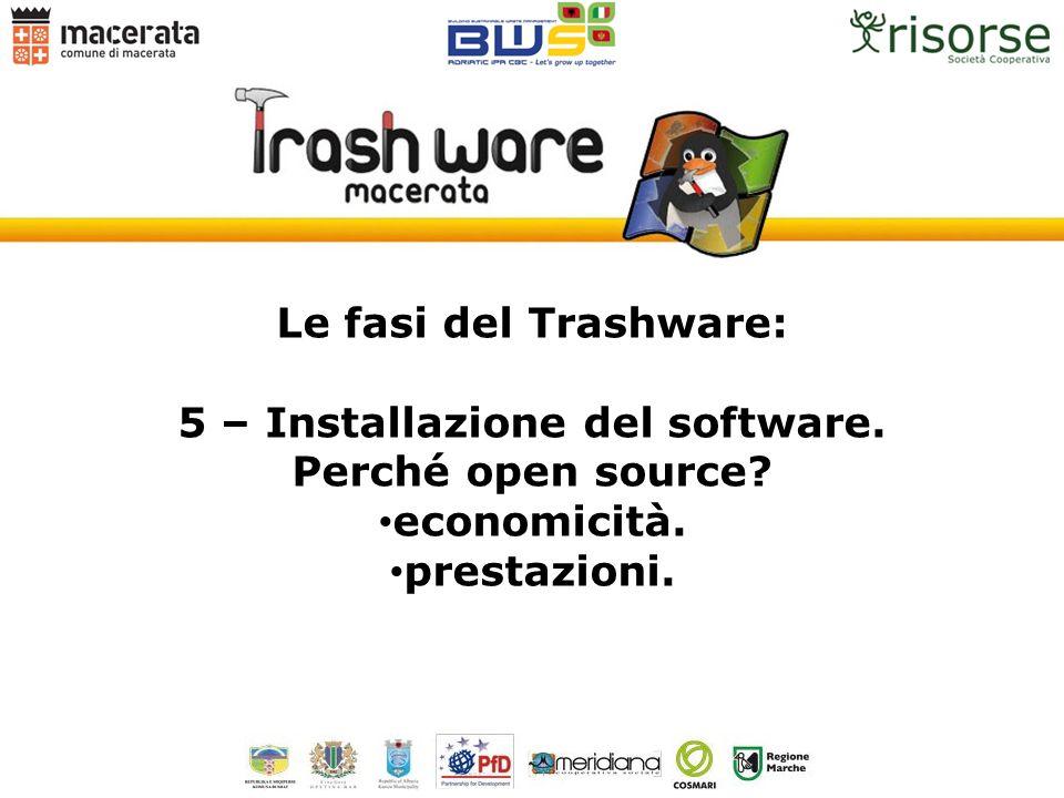 5 – Installazione del software.