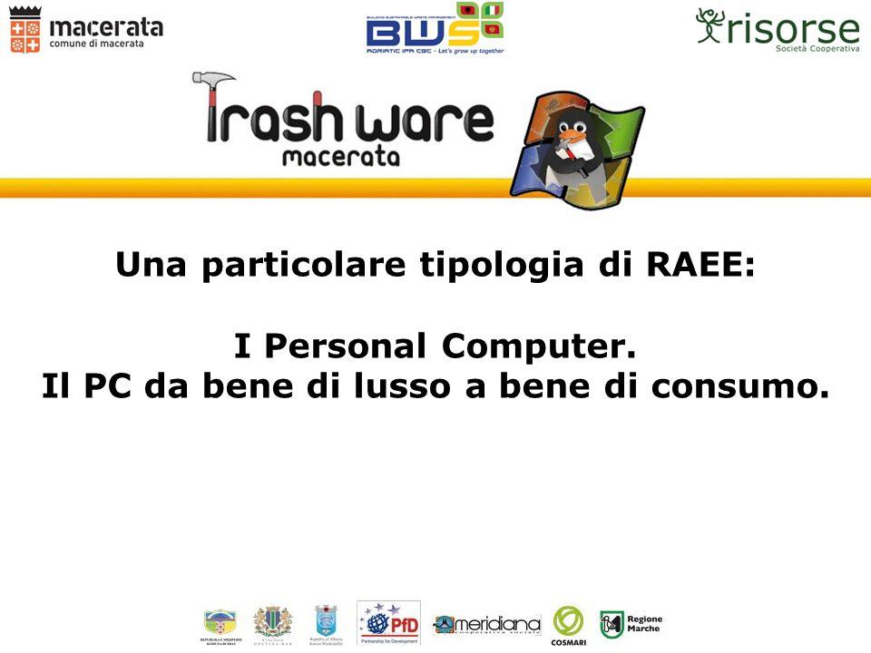 Una particolare tipologia di RAEE: I Personal Computer.