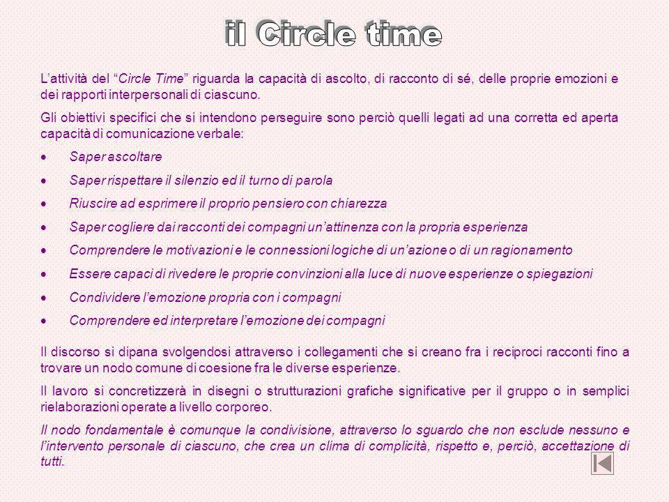 il Circle time
