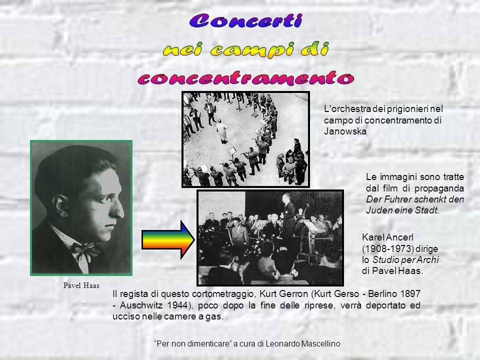 Concerti nei campi di concentramento