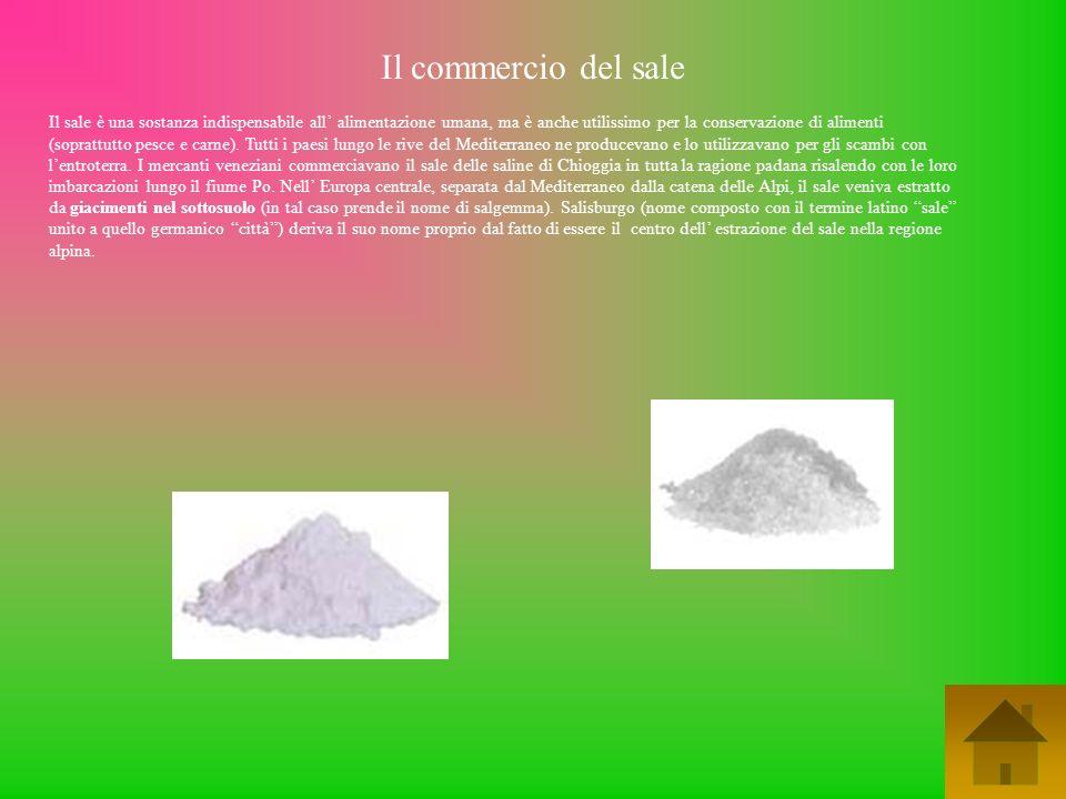Il commercio del sale
