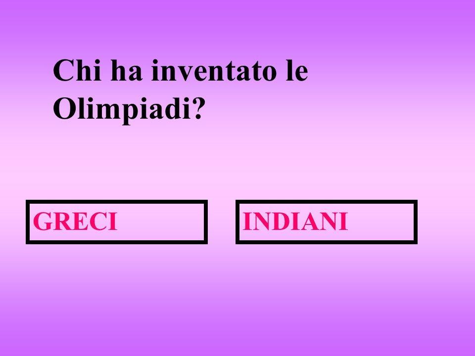 Chi ha inventato le Olimpiadi