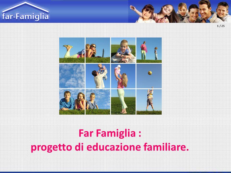 progetto di educazione familiare.