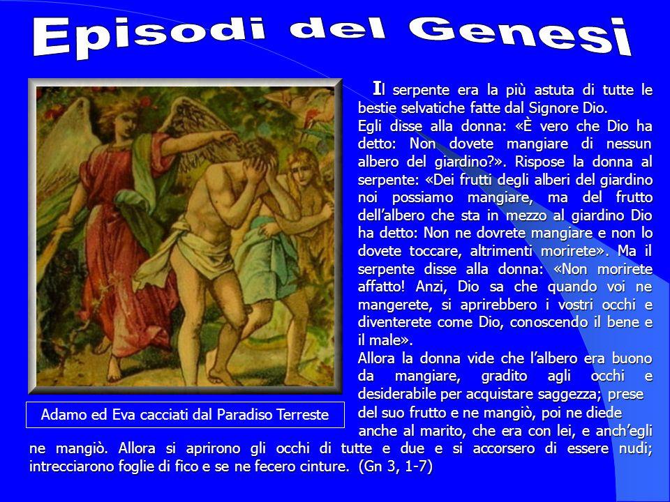 Adamo ed Eva cacciati dal Paradiso Terreste