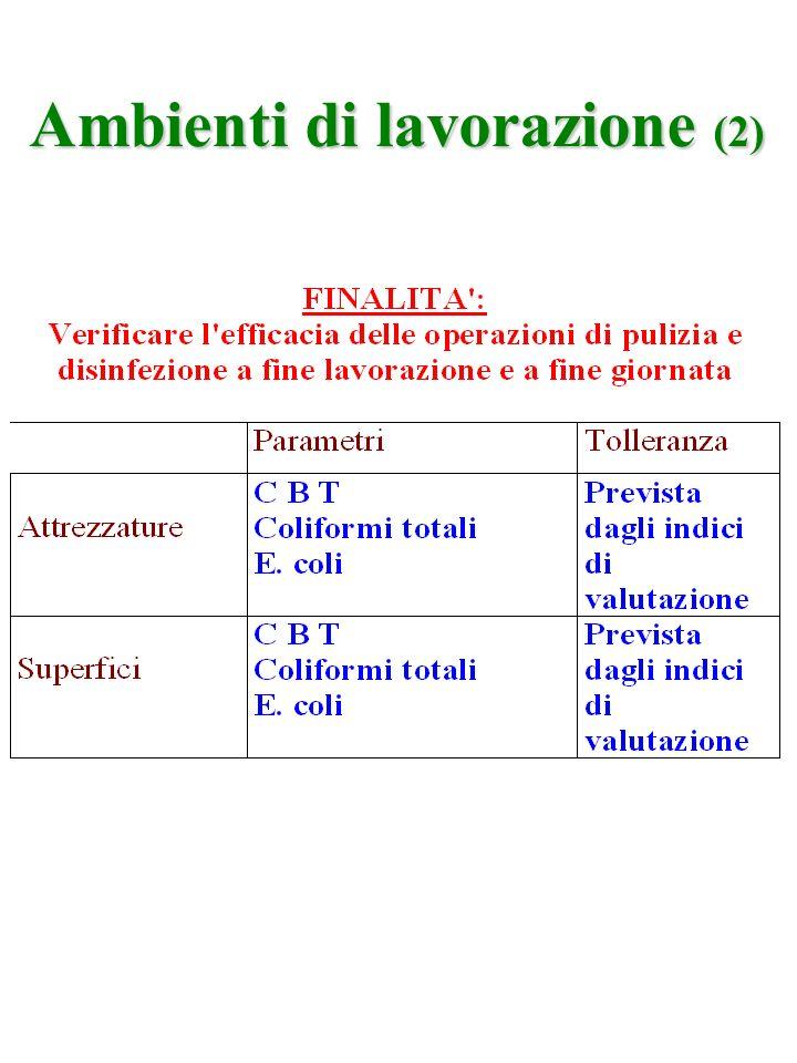 Ambienti di lavorazione (2)