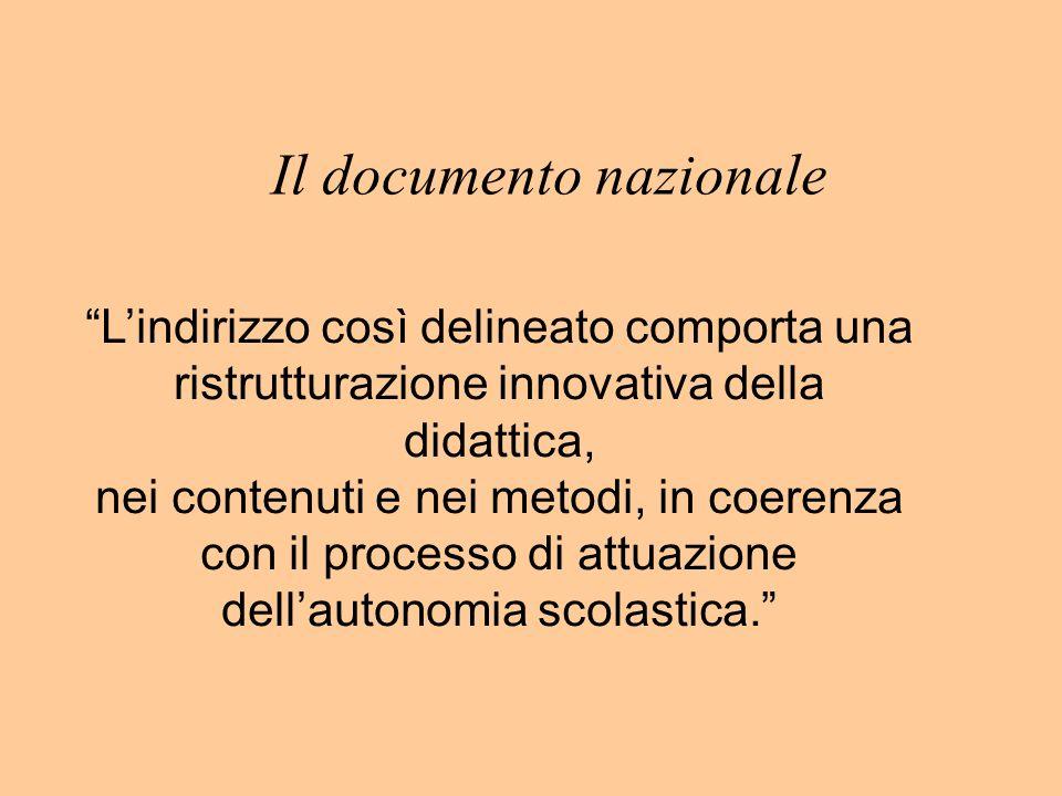 Il documento nazionale