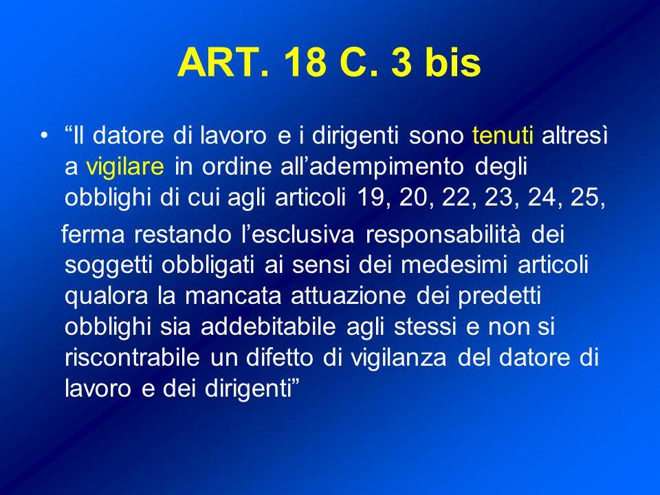 ART. 18 C. 3 bis