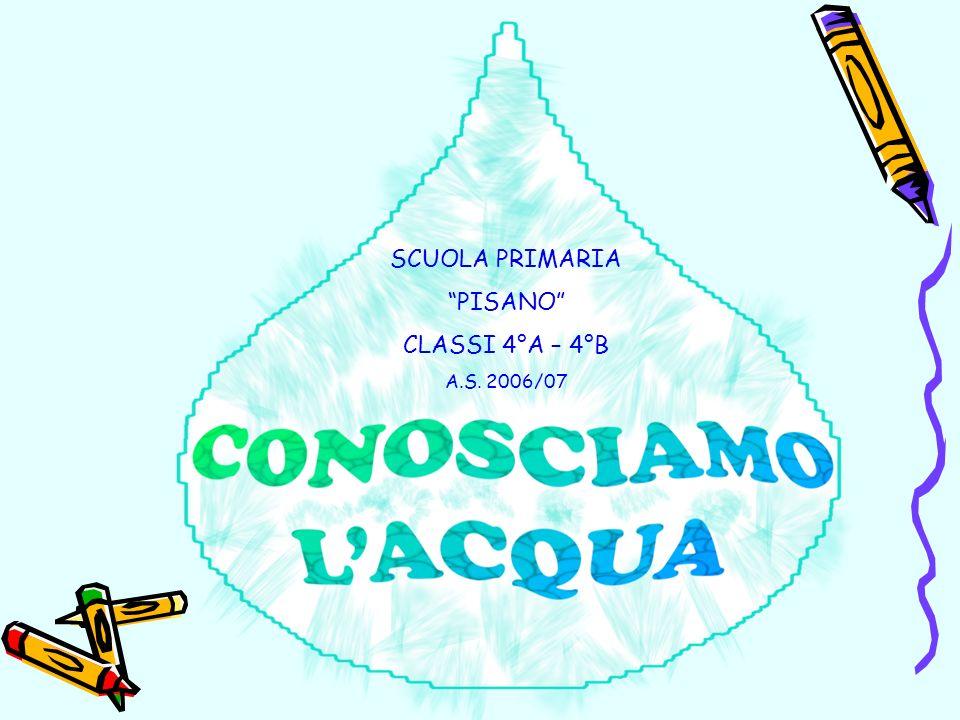 SCUOLA PRIMARIA PISANO CLASSI 4°A – 4°B A.S. 2006/07
