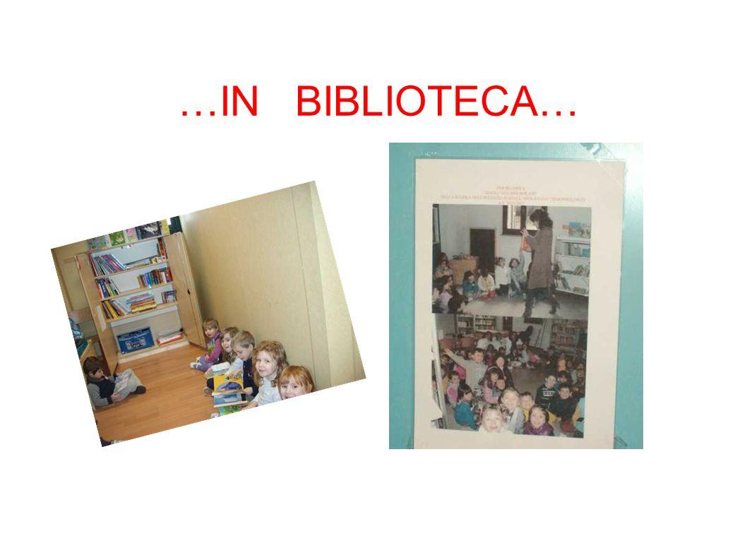 …IN BIBLIOTECA…