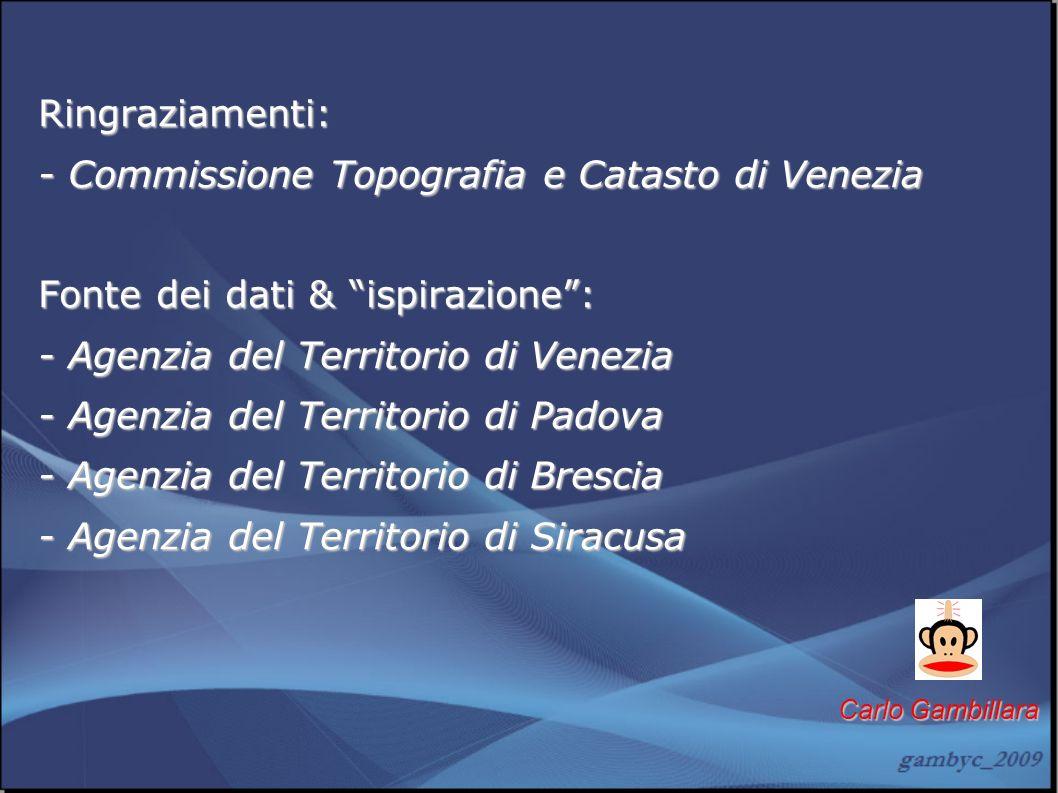 - Commissione Topografia e Catasto di Venezia