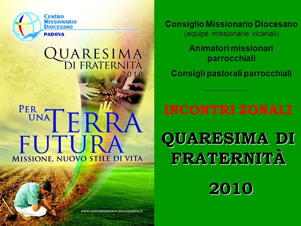 QUARESIMA DI FRATERNITÀ 2010