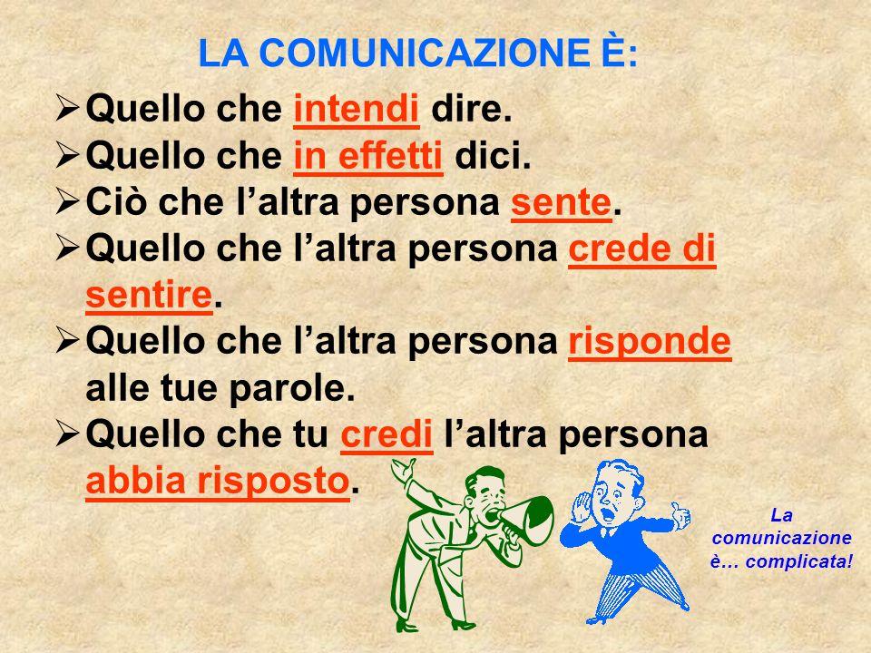 La comunicazione è… complicata!