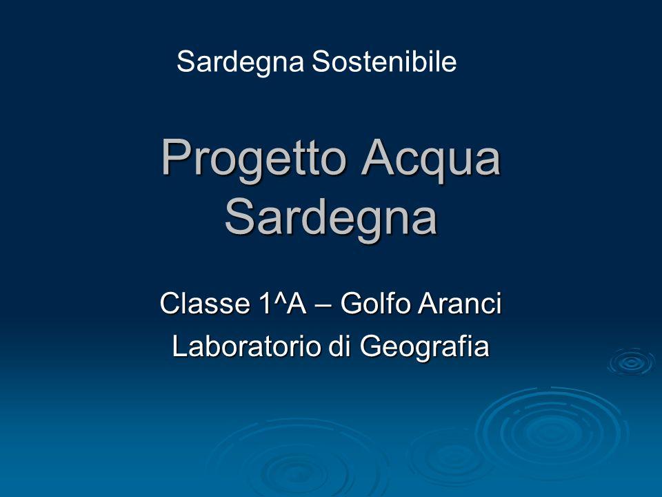 Progetto Acqua Sardegna