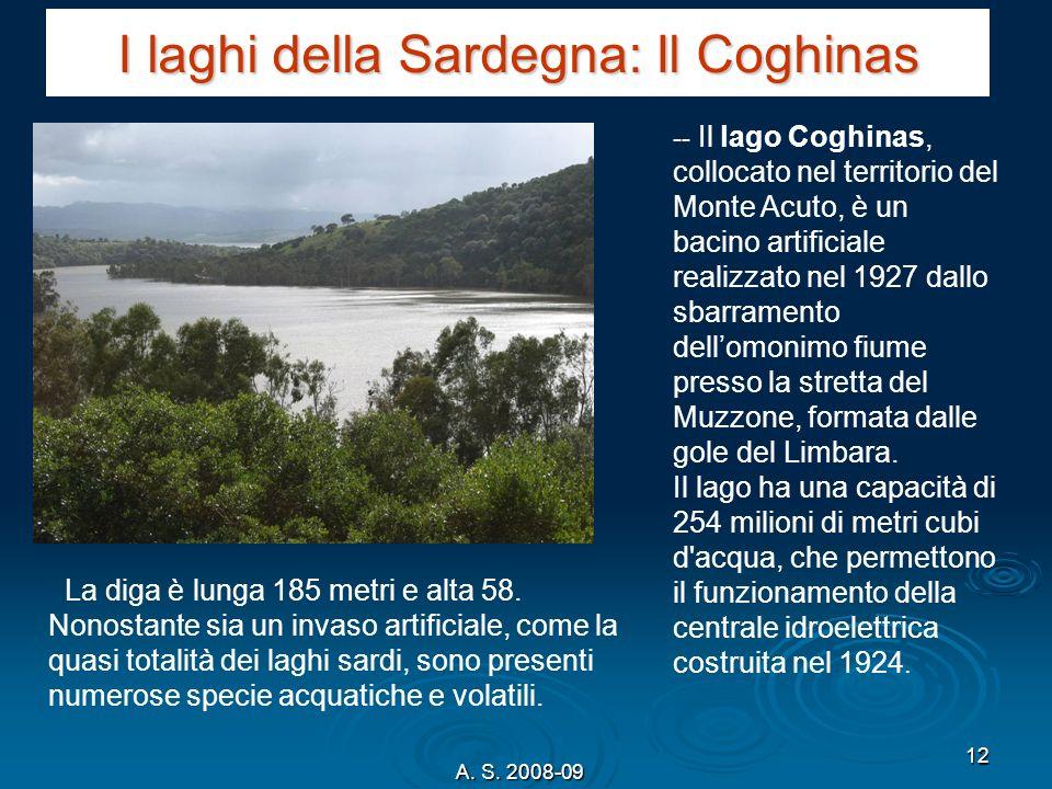 I laghi della Sardegna: Il Coghinas