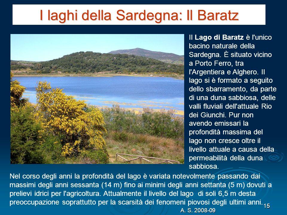 I laghi della Sardegna: Il Baratz