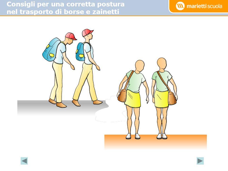 Consigli per una corretta postura nel trasporto di borse e zainetti