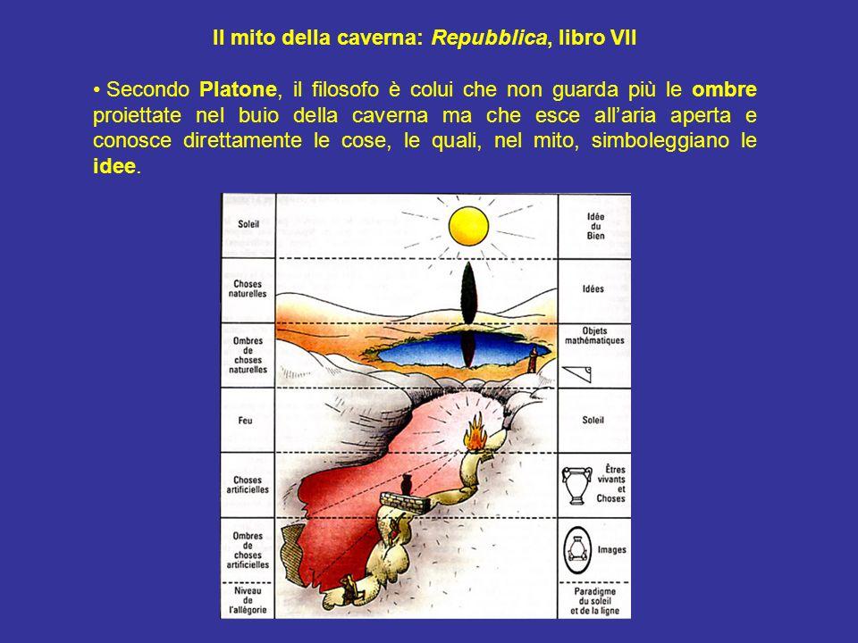 Il mito della caverna: Repubblica, libro VII