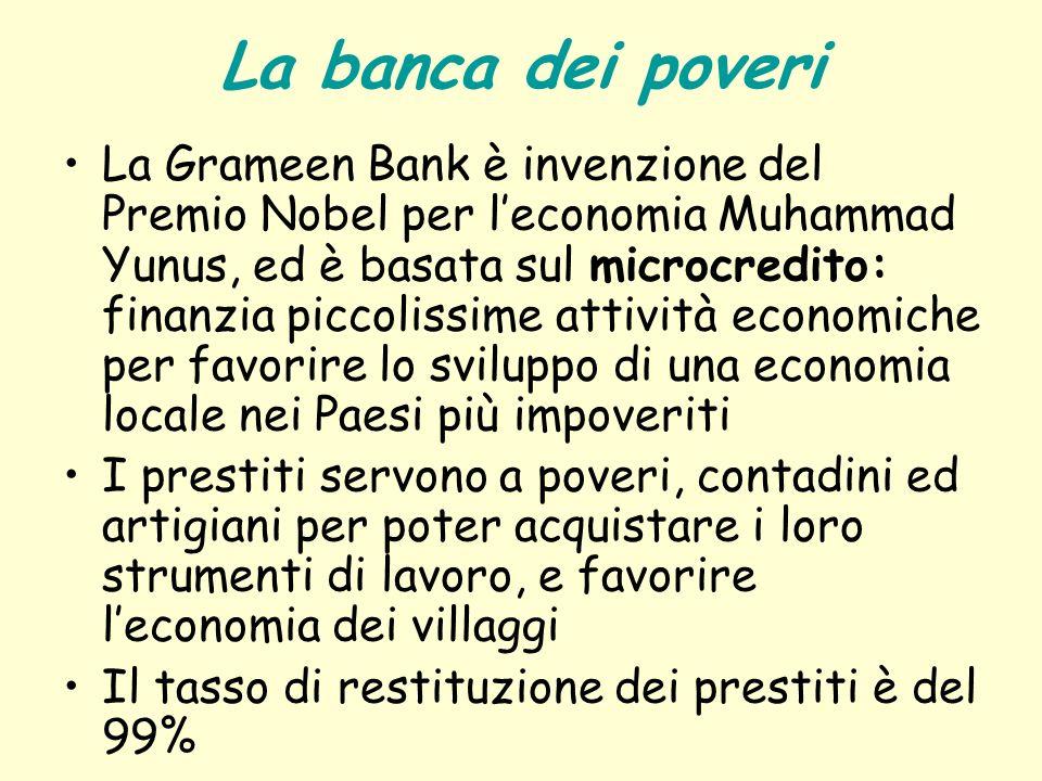 La banca dei poveri