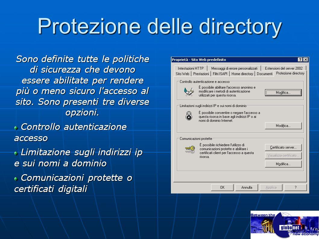 Protezione delle directory