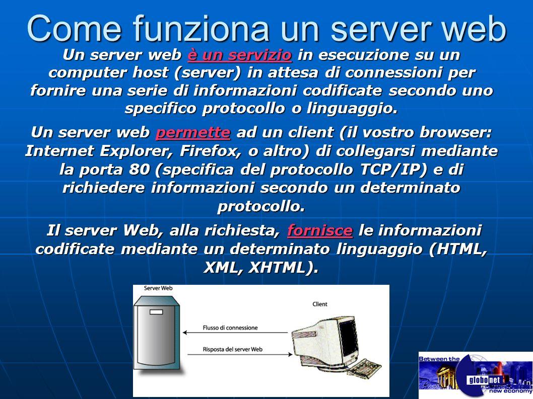 Come funziona un server web