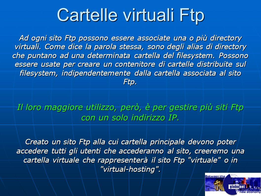 Cartelle virtuali Ftp